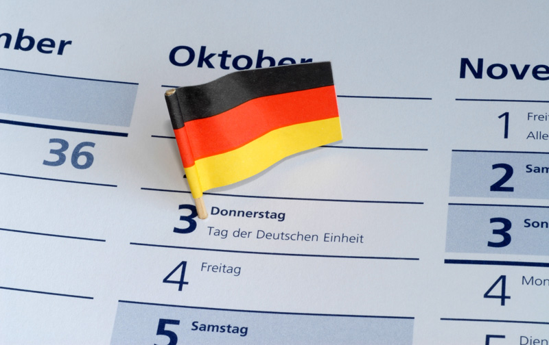 OCTOBER 3 – GERMAN UNITY DAY